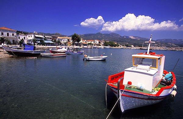 Ormos Marathokampou, Samos Island, Greece