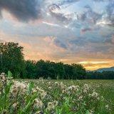 Catskill sunset