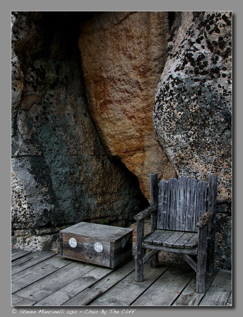 Chair By The Cliff