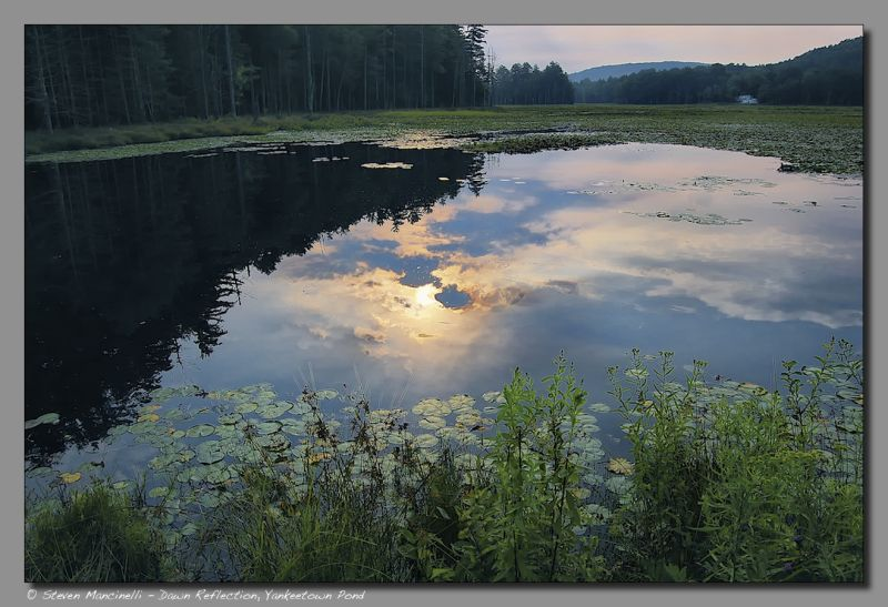 Dawn Reflection, Yankeetown Pond