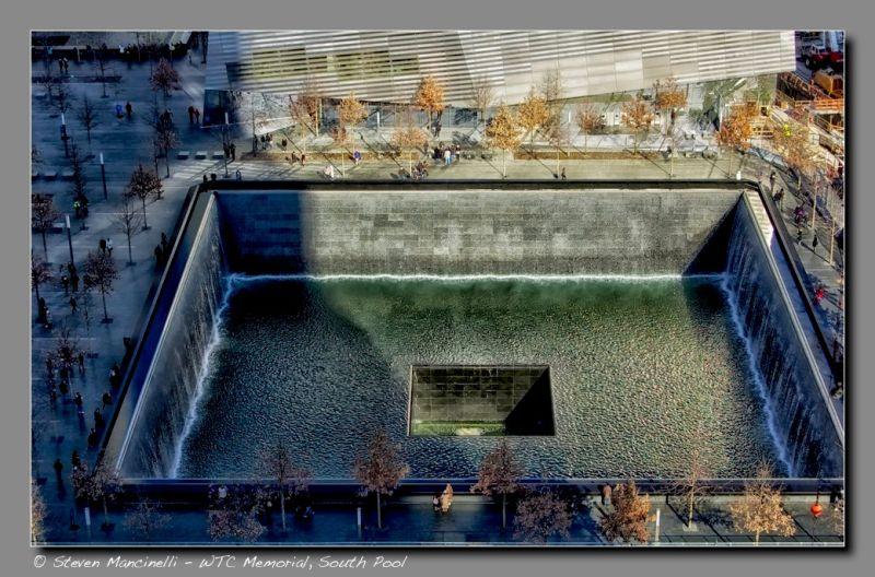 WTC Memorial, South Pool