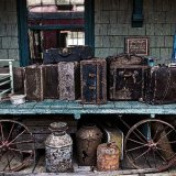 Forgotten Luggage, Phoenicia Train Station 1899