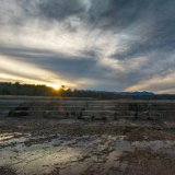 Sunset On Ashokan Spillway