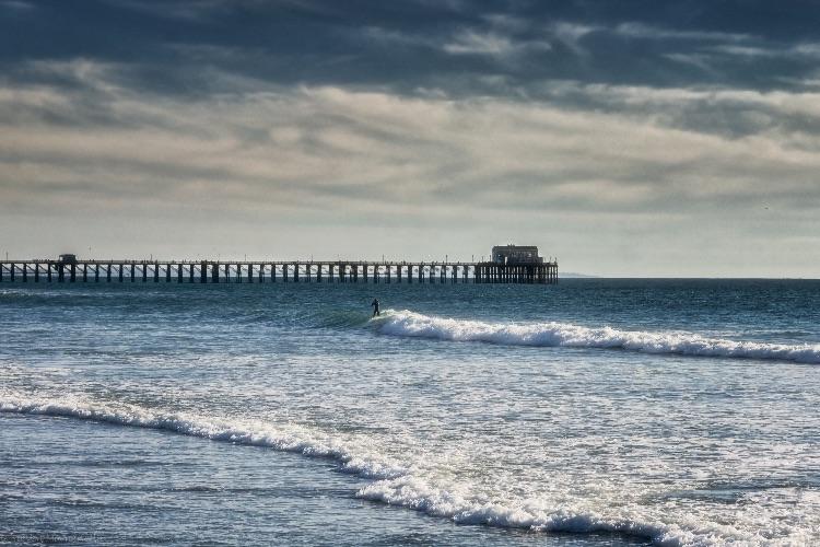 Surifng Oceanside-