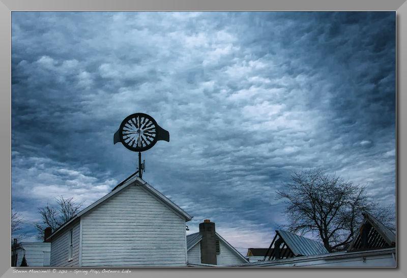 Windmill And Nightfall
