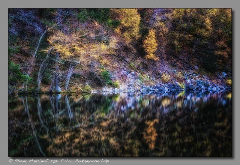 Color, Peekamoose Lake