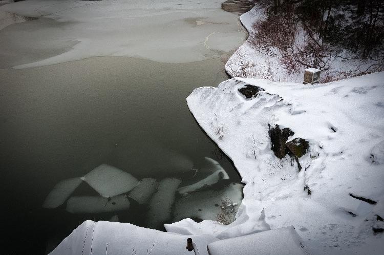 Turtle Pond After Nor-Easter, Central Park
