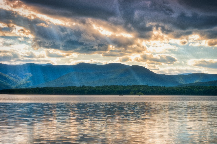 Afternoon Light, Ashokan Reservoir