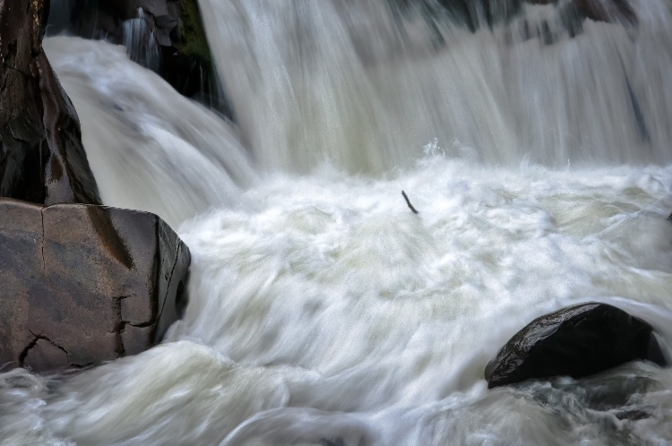 Caught In The Torrent