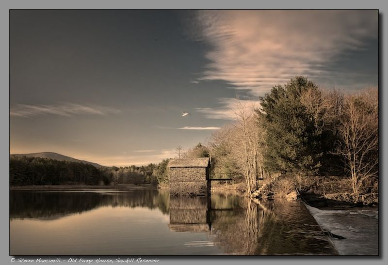 Old Pump House, Sawkill Reservoir