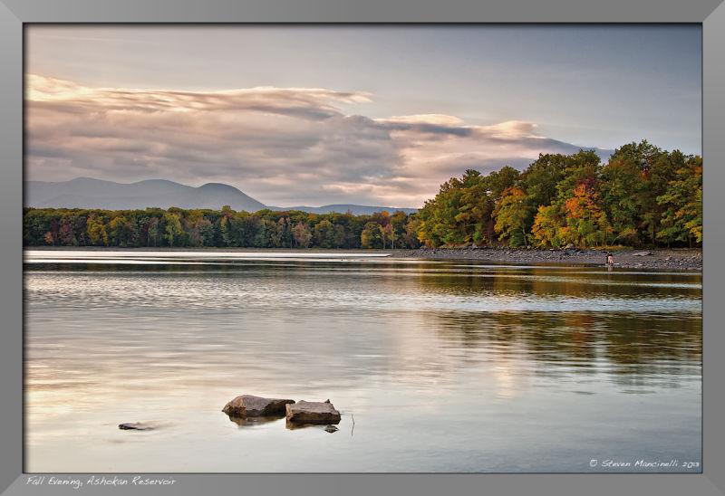 Fall Evening, Ashokan Reservoir