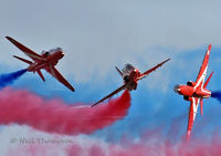 Red Arrows at Duxford