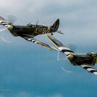 Spitfires at Biggin Hill