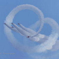 Red Arrows Armed Forces Event Cleethorpes