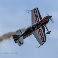 Aerobatics at Cleethorpes