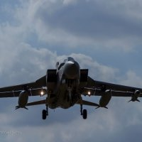 Tornado Landing at Coningsby