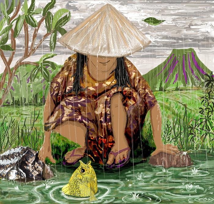 Bawang Putih and the Talking Fish