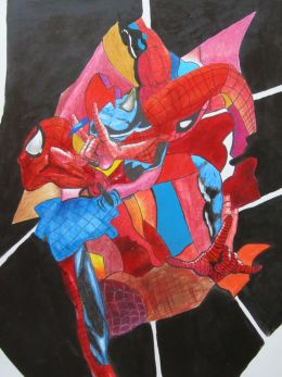 Cubist Spiderman