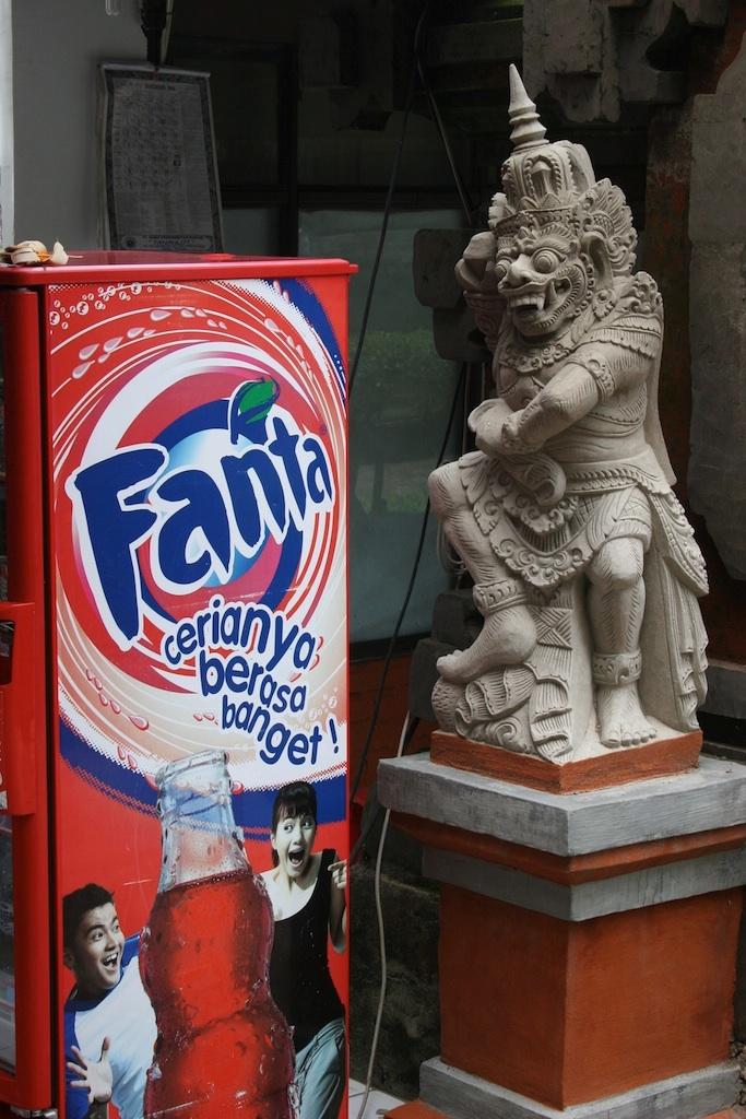 Even Monsters Like Fanta!