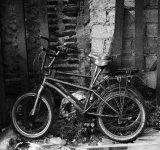 Railway Bikes B&W