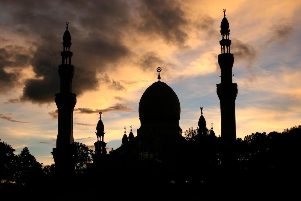 Sunset Mosque