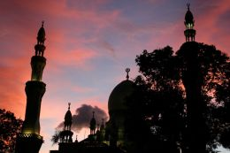 Sunset Mosque 4