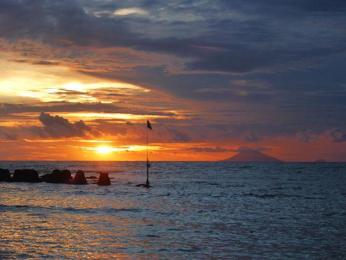 Sunset at Krakatoa