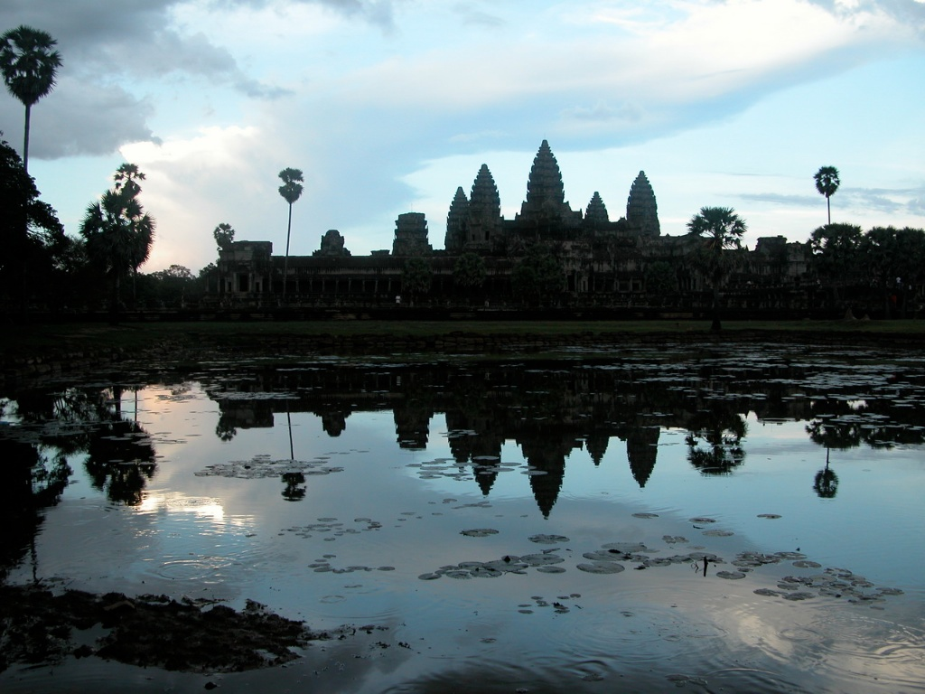 The Angkor Wat Silhouette
