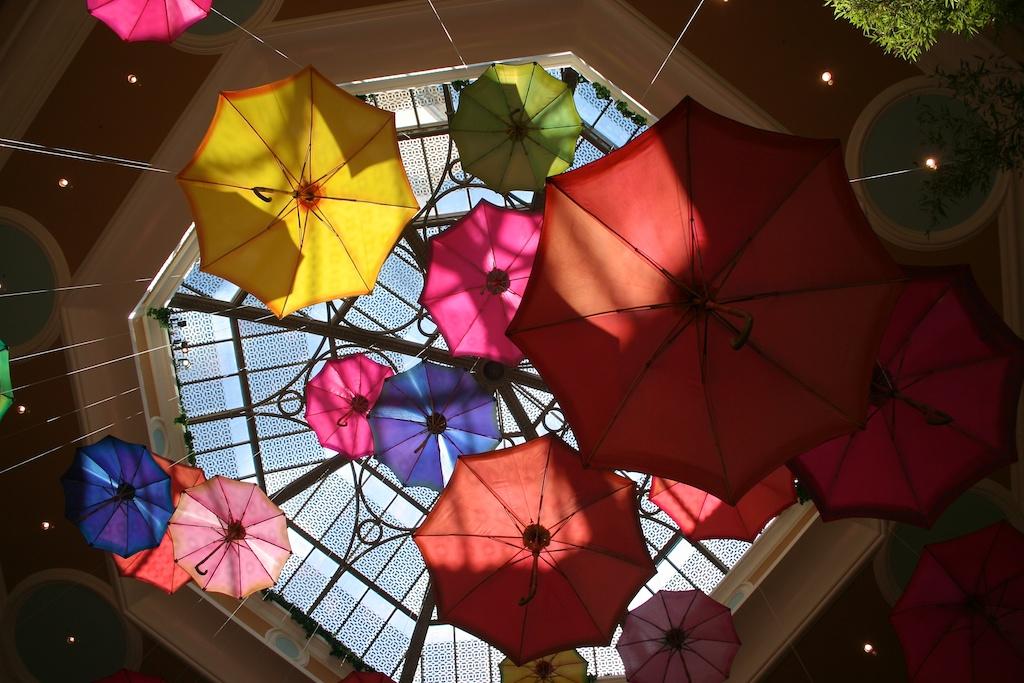 Vegas Umbrellas