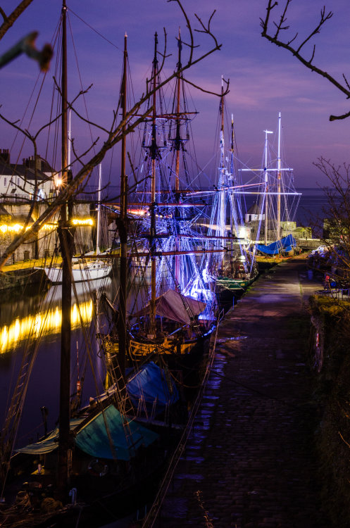 Five Sailing Ships