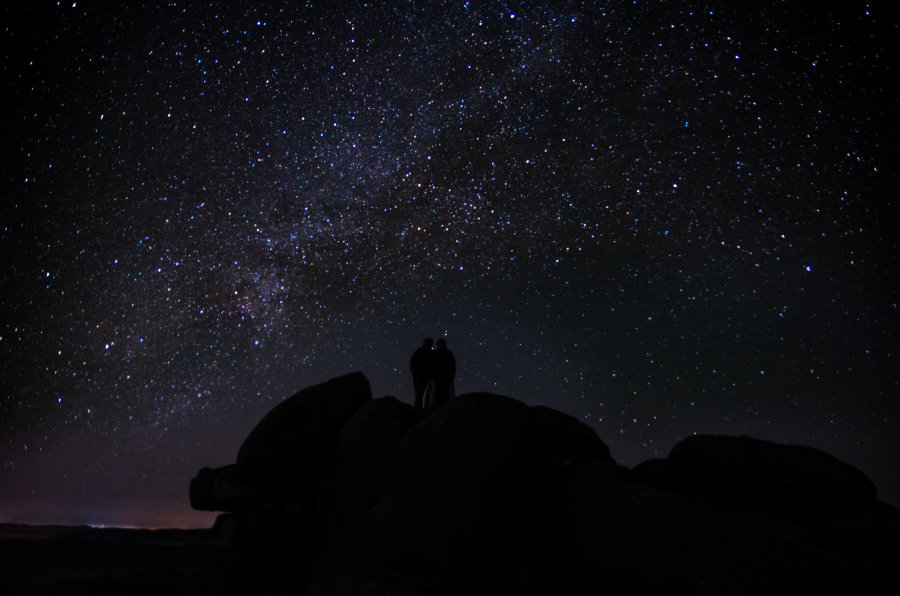 Romance under the Milky Way