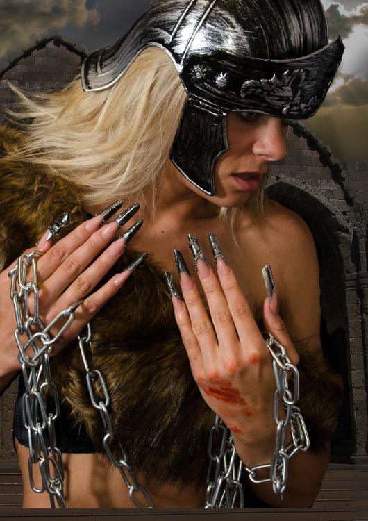 Nail shoot for a Nail Salon