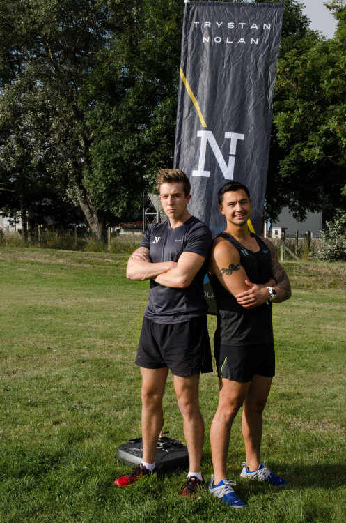 Pop up gym for Trystan Nolan Personal Training