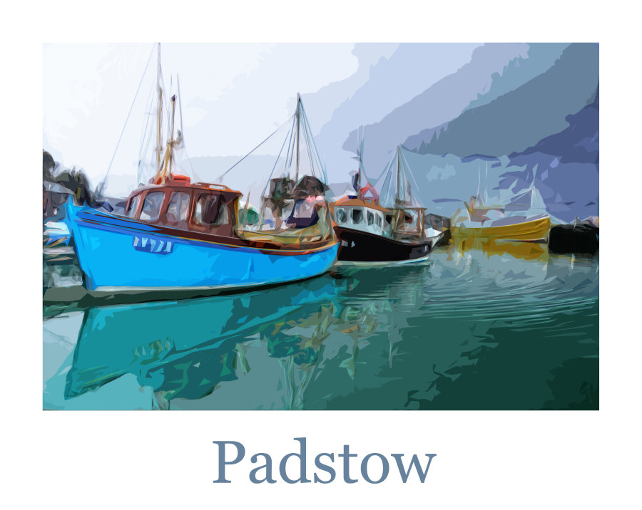 Safely back, Padstow fishing