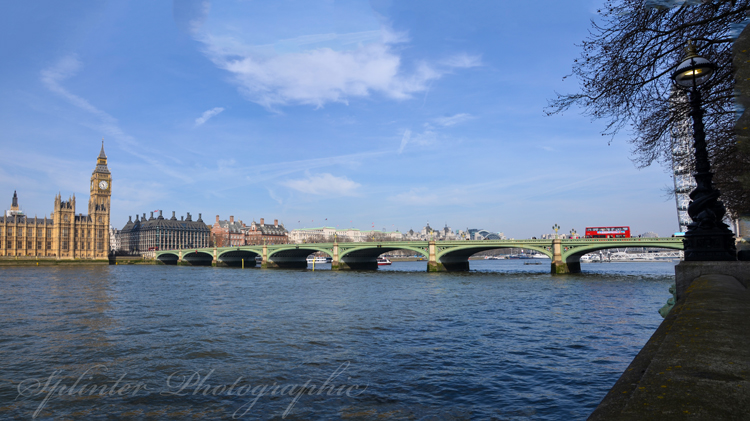 Westminster Bridge day panorama