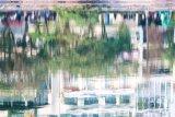 Late pm lake reflections
