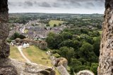 Corfe from Castle