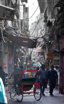 Back streets in Old Delhi