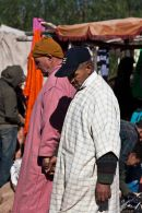 Two men in the market