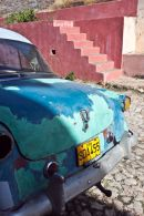 Old car in Trinidad, Cuba