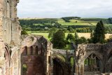 from the belltower, Melrose Abbey