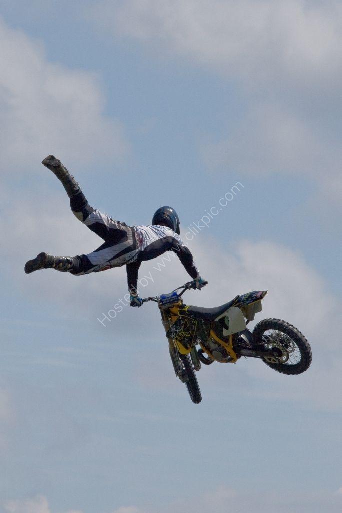 Motorcycle acrobat