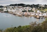 A view of Fowey
