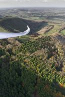 Gliding the ridges in Autumn