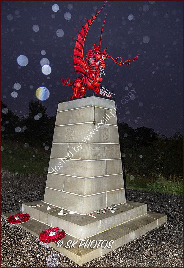 38th (Welsh) Division Memorial, Mametz Wood.
