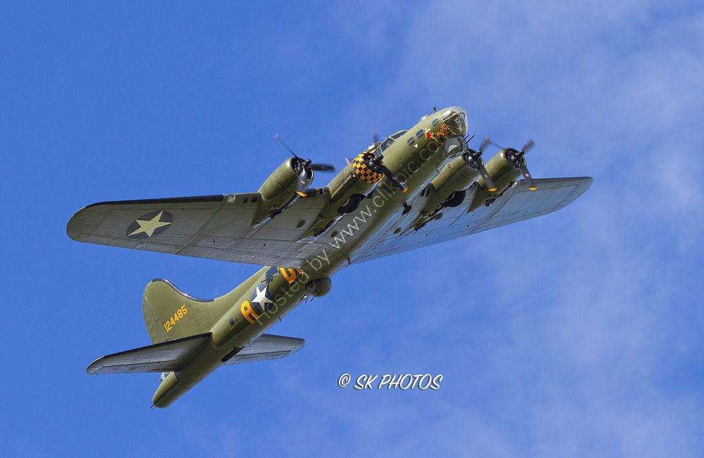 B-17 Flying Fortress, Sally B.