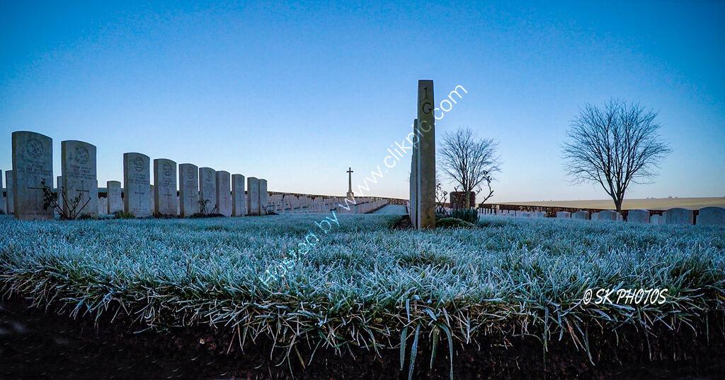 Bernafay Wood British Cemetery, Somme.