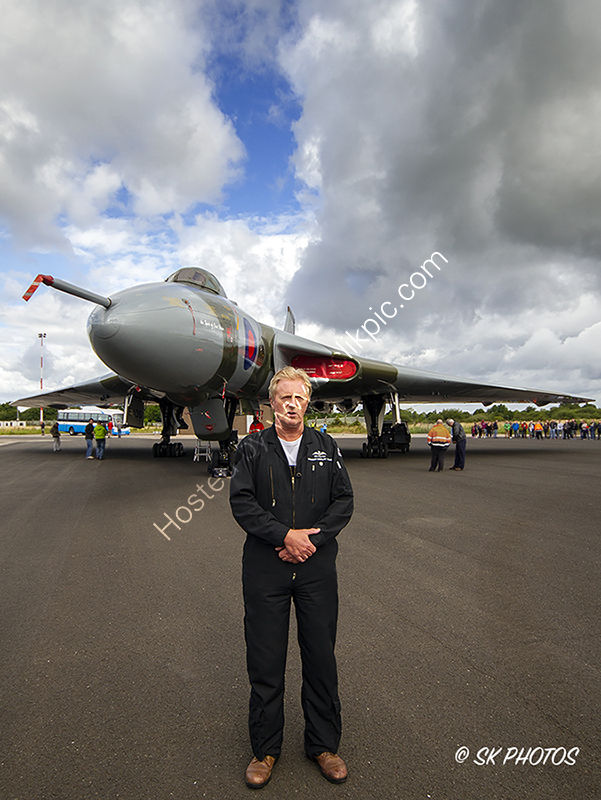 Bill Perrins and Vulcan XH558.