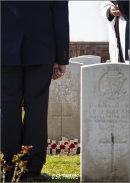 Remembrance, Reverence and Respect - La Plus Douve Farm Cemetery, Hainaut.