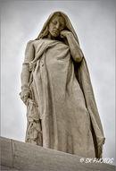Canada Bereft/Mother Canada - Canadian National Vimy Memorial, Pas de Calais.